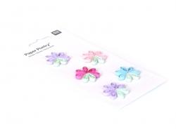 Stickers Quilling - Fleurs pastels