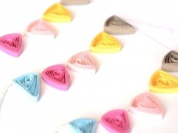 Stickers Quilling - Guirlandes