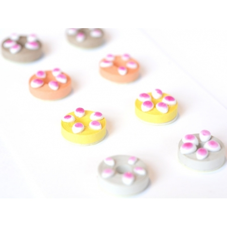 Stickers Quilling - Donuts