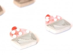 Stickers Quilling - Cupcake
