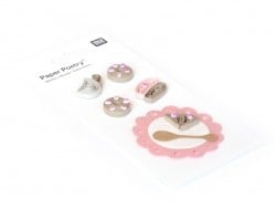 Quilling stickers - Snack time