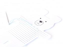 Acheter 8 Cartons à broder - Lapin Ours Chouette et Pingouin - 4,75€ en ligne sur La Petite Epicerie - Loisirs créatifs