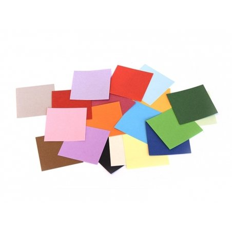 200 origami sheets - 5 cm x 5 cm