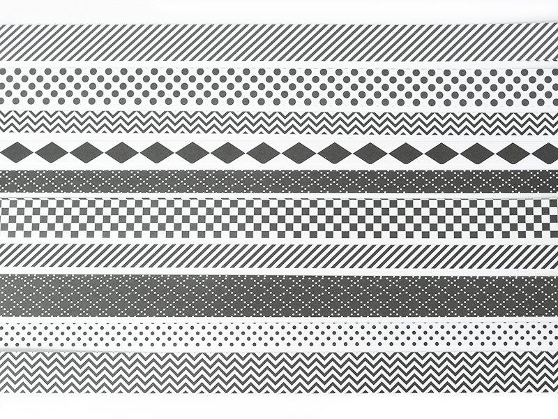 Acheter Bandes de papier Origami - Graphisme noir & blanc - 5,85€ en ligne sur La Petite Epicerie - 100% Loisirs créatifs