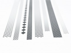 Bandes de papier Origami - Graphisme noir & blanc