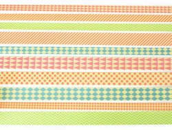 Bandes de papier Origami - Graphisme couleurs