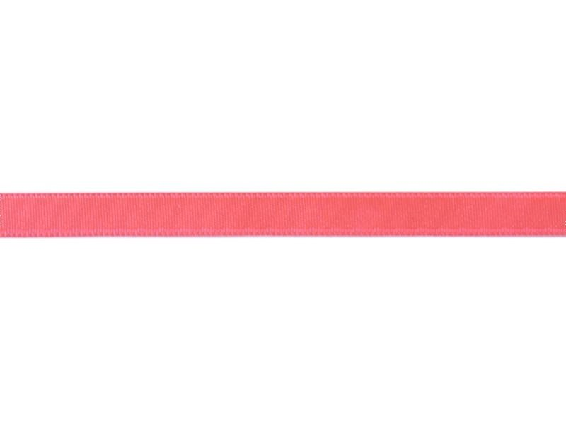 1 m of satin ribbon (8 mm) - neon pink (colour no. 204)