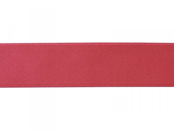 1 m of satin ribbon (26 mm) - neon pink (colour no. 204)