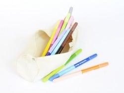 Acheter Trousse en tissu - 22 x 6 cm - 4,20€ en ligne sur La Petite Epicerie - Loisirs créatifs