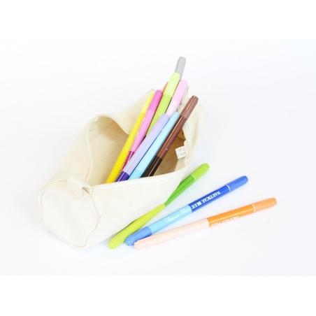 Fabric pencil case - 22 cm x 6 cm