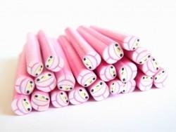 Acheter Cane lapin bonnet rose kawaï en pâte polymère - 0,49€ en ligne sur La Petite Epicerie - Loisirs créatifs