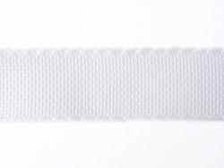 Galon en toile Aida 35 mm - blanc 001