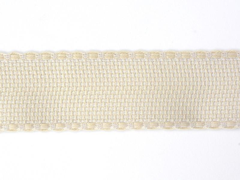Aida cloth trim (35 mm) - Beige (colour no. 051)