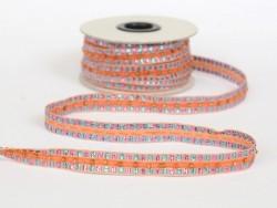 Acheter 1m de galon lurex et perles 10mm - Orange 083 - 4,30€ en ligne sur La Petite Epicerie - Loisirs créatifs