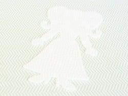 Plaque support pour perles HAMA - Fleur et princesse