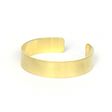 Brass bangle - 1.3 cm