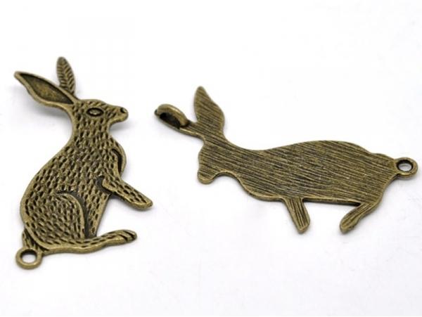 Acheter 1 Breloque gros lapin - 1,89€ en ligne sur La Petite Epicerie - Loisirs créatifs