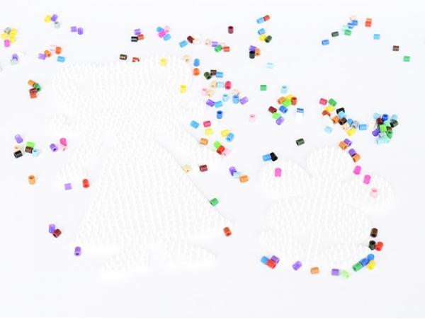 Plaque support pour perles HAMA - Fleur et princesse Hama - 3