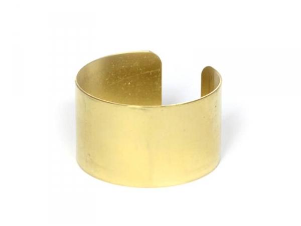 Bracelet manchette en laiton - 3,2 cm