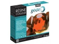 Résine colorée - Ambre - gédéo 150 ml
