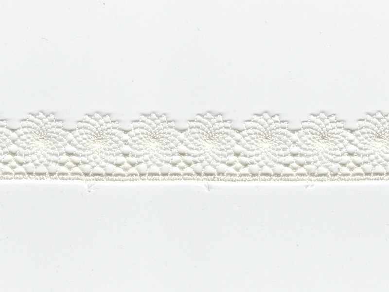 1 m de ruban dentelle 16 mm - écru 051