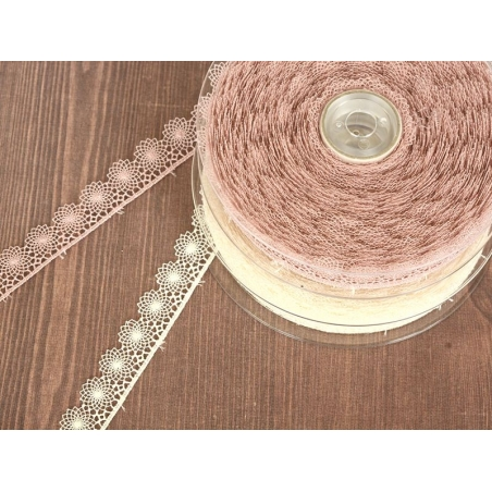 1 m of lace ribbon (16 mm) - off-white (colour no. 051)