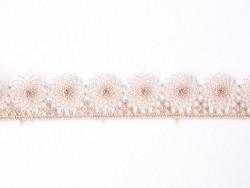 1 m de ruban dentelle 16 mm - rose 074