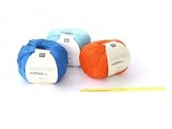 Crochet fluo 5 mm - Plastique