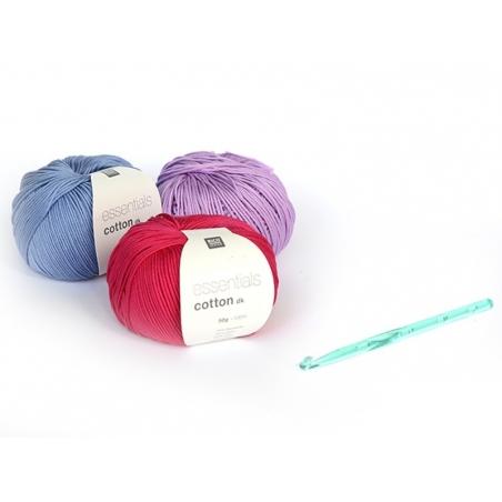 Acheter Crochet fluo 6,5 mm - Plastique - 2,80€ en ligne sur La Petite Epicerie - 100% Loisirs créatifs