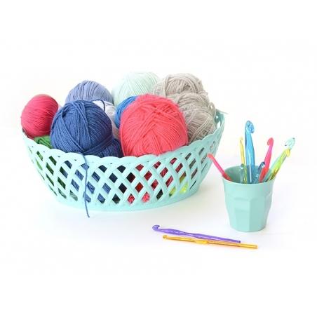 Acheter Crochet fluo 7 mm - Plastique - 3,35€ en ligne sur La Petite Epicerie - 100% Loisirs créatifs