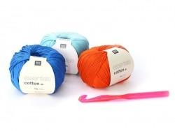 Crochet fluo 10 mm - Plastique