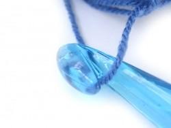 Crochet fluo 15 mm - Plastique