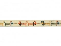 Acheter 1m ruban tissé 15 mm - chiens 040 - 2,69€ en ligne sur La Petite Epicerie - 100% Loisirs créatifs