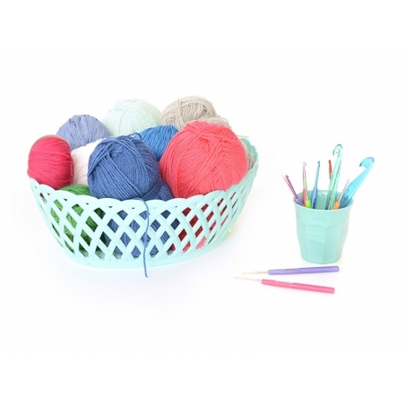 Crochet hook (2.00 mm) - Aluminium