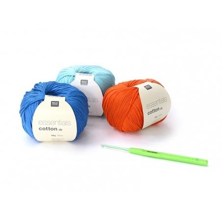 Crochet hook (2.50 mm) - Aluminium
