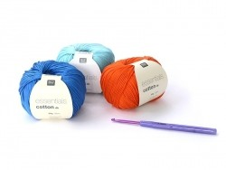 Crochet hook (3.00 mm) - Aluminium