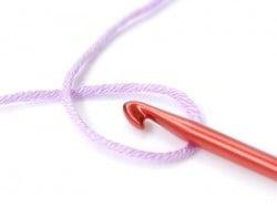 Crochet 4,00 mm - Aluminium