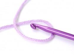 Crochet 3,50 mm - Aluminium