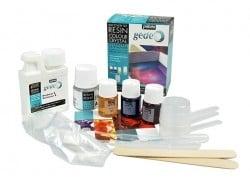 Kit découverte de résine couleur et cristal