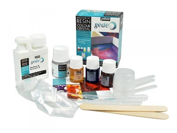 Acheter Kit découverte de résine couleur et cristal - 22,90€ en ligne sur La Petite Epicerie - Loisirs créatifs