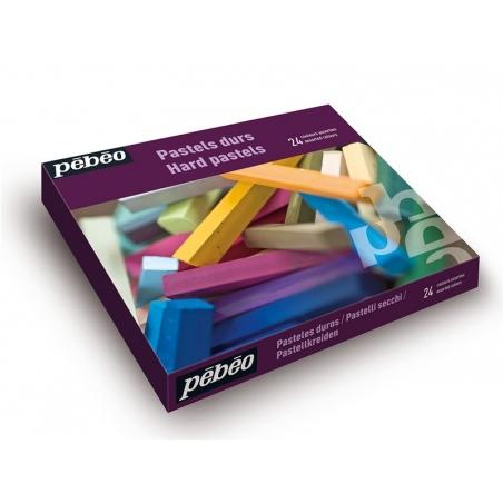 Acheter Coffret de 24 pastels durs - 29,90€ en ligne sur La Petite Epicerie - 100% Loisirs créatifs