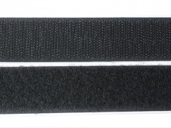 10 cm of self-adhesive velcro (25 mm) - black (colour no. 014)