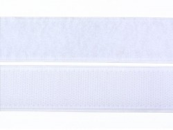 10 cm of velcro (25 mm) - white (colour no. 001)