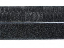 10 cm of velcro (25 mm) - black (colour no. 014)