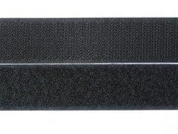 10cm velcro 25mm  - Noir 014