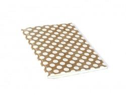Grand carnet avec couverture à pois - Blanc Rico Design - 1