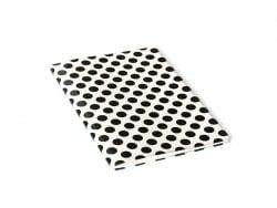 Grand carnet avec couverture à pois - Noir Rico Design - 1