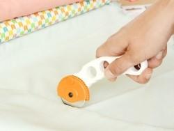 Rollenschneider für Papier und Stoff