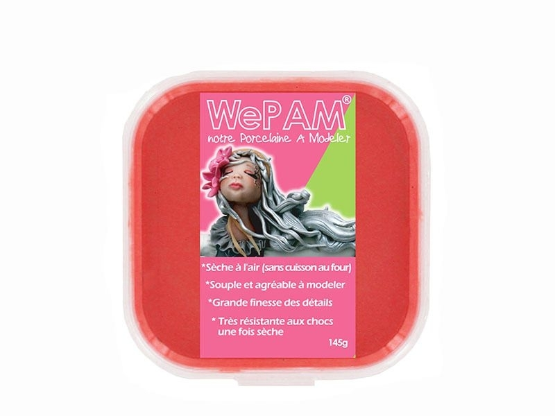 WePam clay - red Wepam - 1