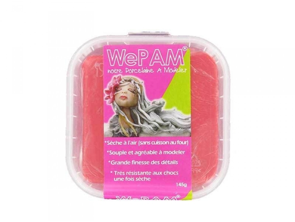 WePam clay - pearly red Wepam - 1